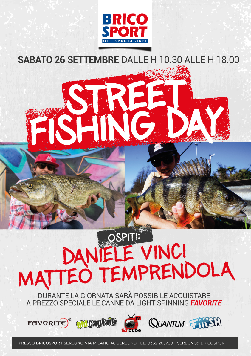 evento street fishing