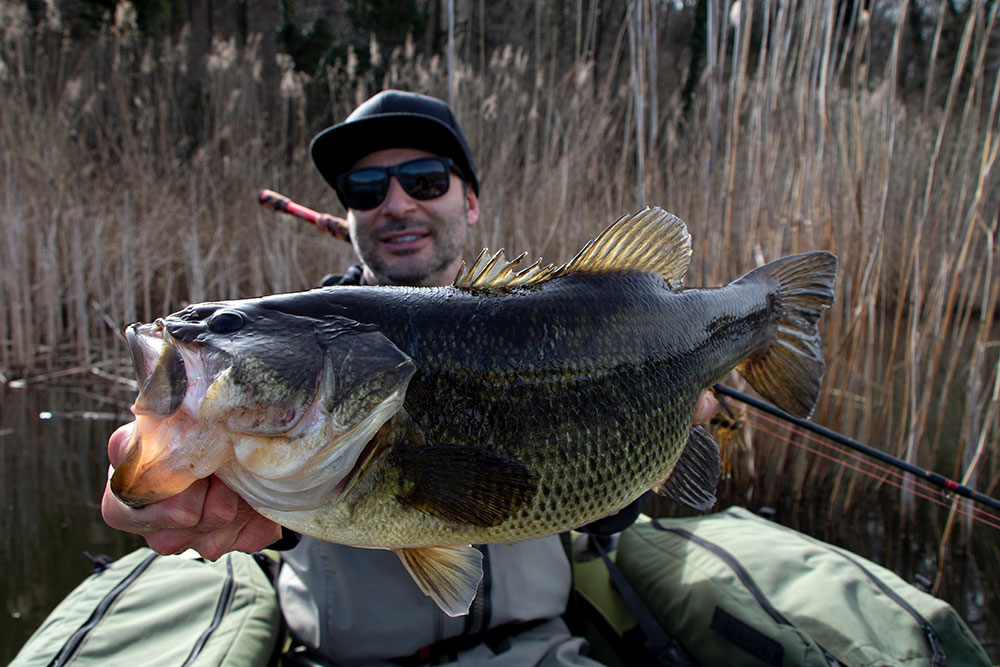 SMITH KOZ EX-C65LH : La canna per il big bass in belly boat.4